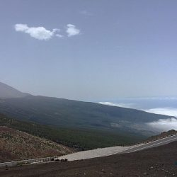 Mt Teide in Tenerife. Day 2 of the Marmot Tours road cycling challenge.