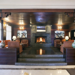 Lounge of the Parador de Canadas del Teide in Tenerife