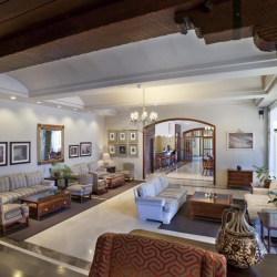 Lounge of the Parador de Canadas del Teide in Tenerife - hotel used by Marmot Tours cycling holidays
