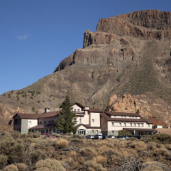 Parador de Canadas del Teide in Tenerife - hotel used by Marmot Tours cycling holidays