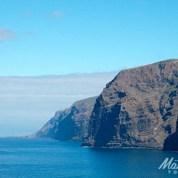 The steep cliffs of the West coast of Tenerife with Marmot Tours
