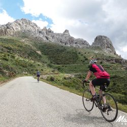 Climbing in Sardinia with Marmot Tours road cycling holidays