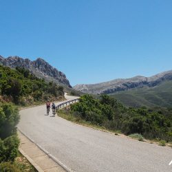 Excellent weather in Sardinia on the Marmot Tours road cycling holiday