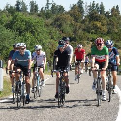 Marmot Tours Peloton on a road cycling holiday in Sardinia