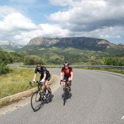 Marmot Tours road cycling holidays on sardinia