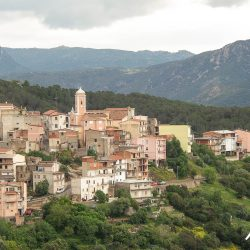 Mountain hamlet in Sardinia with Marmot Tours road cycling holidays
