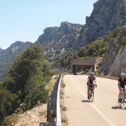 Orientale Sarda Road a highlight of the Marmot Tours cycling holiday in Sardinia, Italy