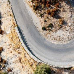 Ventoux & the Verdon Gorge aerial shot - vvg