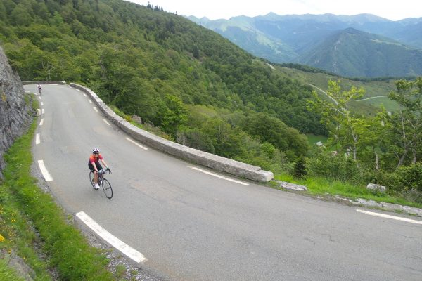 Pyrenean cycling holidays - classic cols