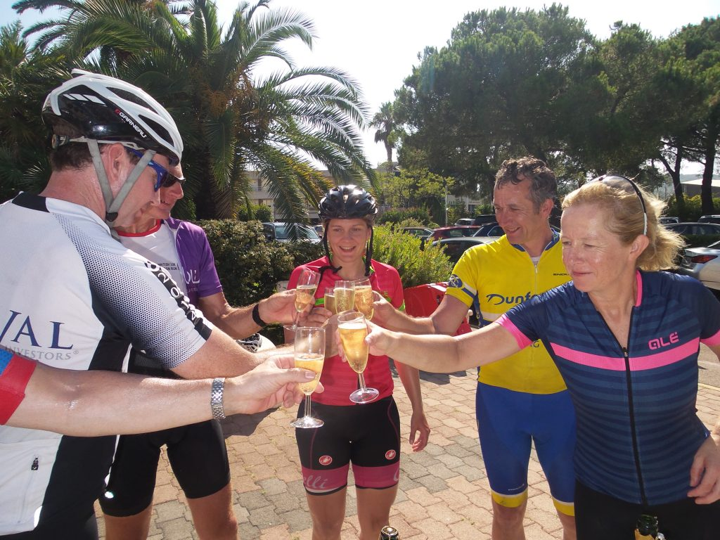 Fun Cycling holiday celebrations with Marmot Tours