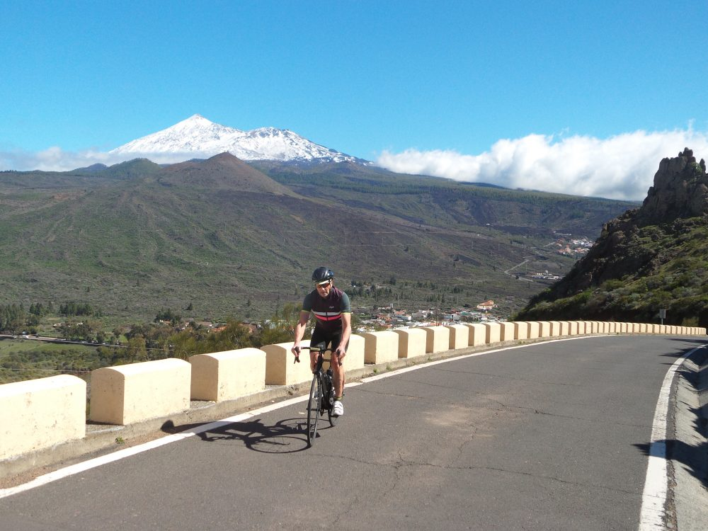 winter cycling in the canaries