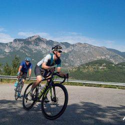 Turini hairpin cycling