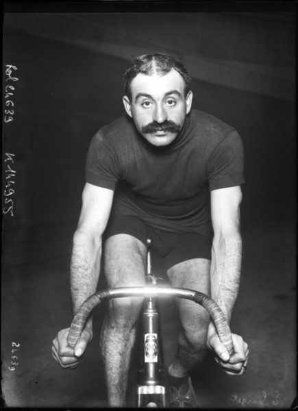 Maurice-François Garin, winner of the first Tour de France way back in 1903