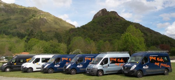 Marmot Tours Cycling Holidays Support Vehicles