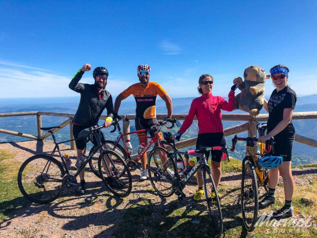 cycling Europe - Alto del Ganoniteiro