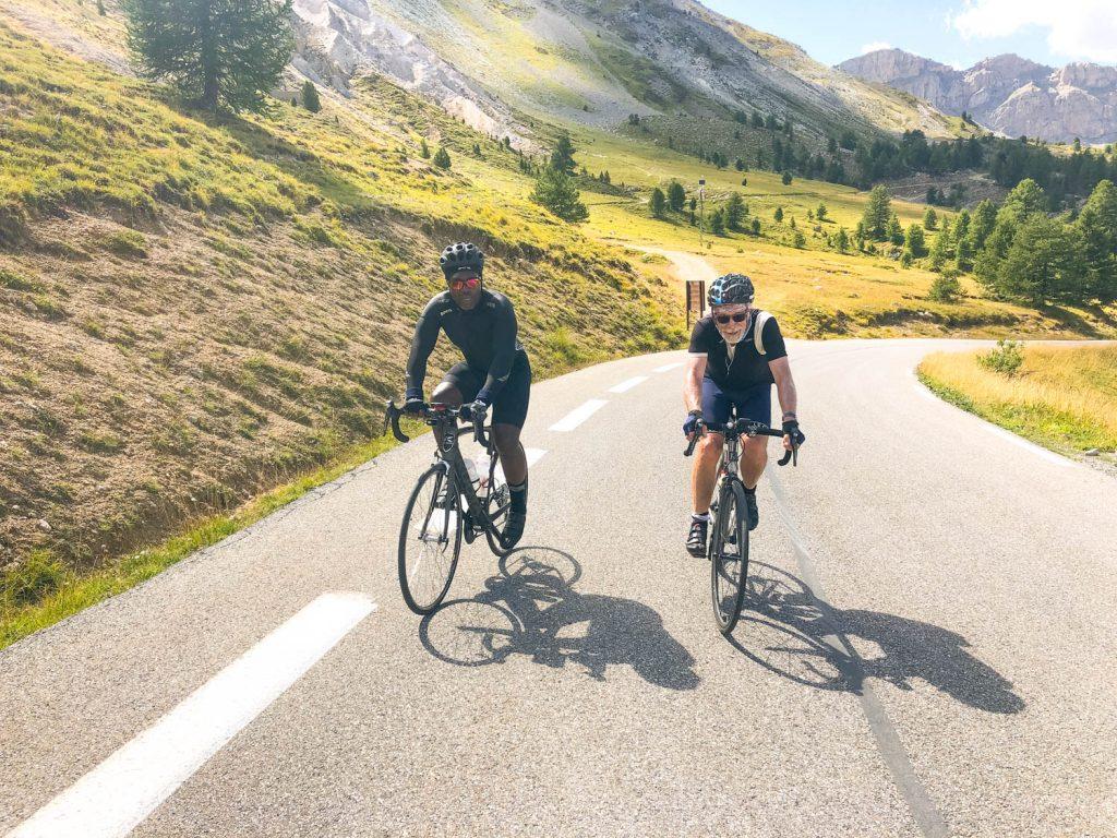Marmot Tours European road cycling holidays Raid Alpine cyclists