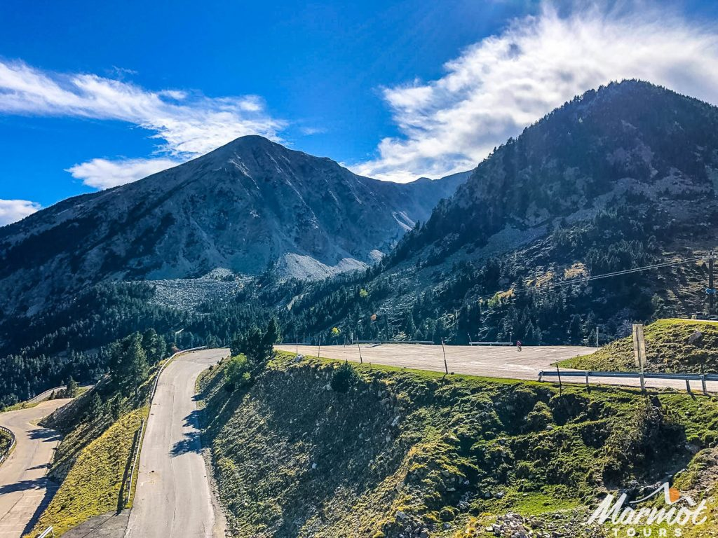 Vallter 2000 cycling climb with Marmot Tours supported road cycling holidays in Spain